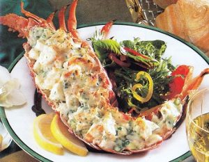 Lobster Thermidor in Torrevieja