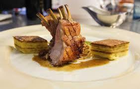 fusion food roast lamb